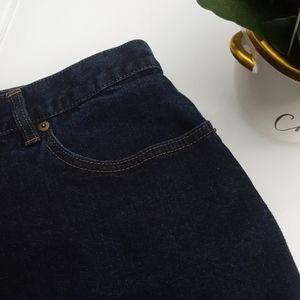 LAUREN JEANS CO. Denim Skirt size 14